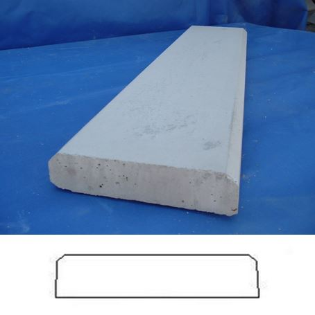 Precast Concrete Coping Wall Caps