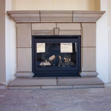Precast Concrete Fireplaces